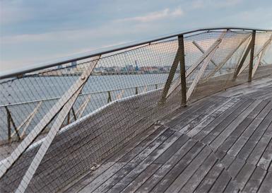 码头防尘网
